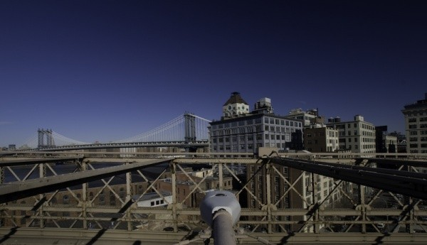 Laurence, Manhattan Bridge New York, La Varenne