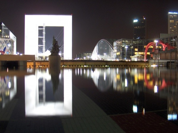 La Defense by night